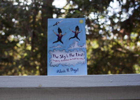 """""""The Sky's the Limit"""" Book Cover"""